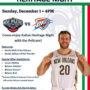 Pelicans Italian Heritage Night